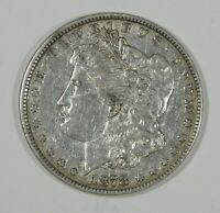 1878 7-TAIL FEATHER REVERSE OF 1878 MORGAN DOLLAR EXTRA FINE SILVER DOLLAR
