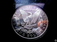 1885-CC MORGAN DOLLAR MINT STATE 64 NGC GSA VAM-2 DASH UNDER 8 PL REV & FROSTY CAMEOS PQ