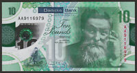 NORTHERN IRELAND DANSKE BANK 10 POUNDS 2017 UNC AA POLYMER NOTE