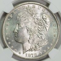1878 S NGC MINT STATE 63 MORGAN SILVER DOLLAR ITEMT12320