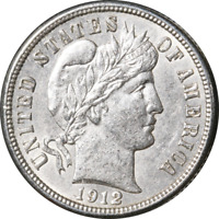 1912-D BARBER DIME GREAT DEALS FROM THE EXECUTIVE COIN COMPANY