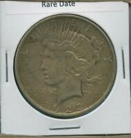 1923 D PEACE DOLLAR $1 US MINT COIN  DATE SILVER COIN 1923-D