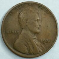 DATE 1931 - S - US LINCOLN WHEAT CENT Q145