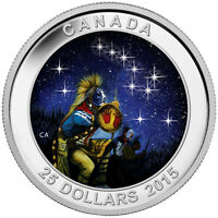 START CHARTS: THE QUEST   2015 CANADA $25 FINE SILVER COIN