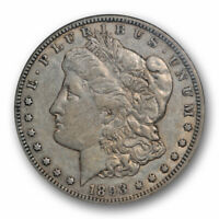 1893 O $1 MORGAN DOLLAR NGC EXTRA FINE  45 EXTRA FINE TO ABOUT UNCIRCULATED BETTER DATE