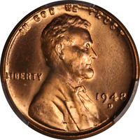 1948-D LINCOLN CENT PCGS MINT STATE 66RD FULL RED GEM SUPERB EYE APPEAL STRONG STRIKE