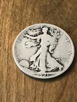 1921D WALKING LIBERTY HALF DOLLAR G
