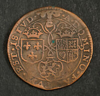 1609 NETHERLANDS/GREAT BRITAIN. COPPER