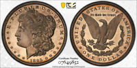 1895 $1 PROOF MORGAN DOLLAR PCGS PR 62 CAC APPROVED THE KING OF THE SERIES