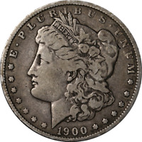 1900-O MORGAN SILVER DOLLAR - VAM 29A - CRACK AT DATE GREAT DEALS FROM THE EXECU