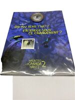 2015 HAUNTED CANADA 2  BRAKEMAN 25 CENT LENTICULAR COIN & STAMP GIFT SET SEALED
