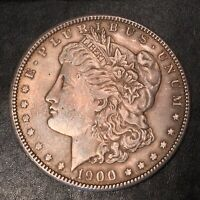 1900 MORGAN SILVER DOLLAR - HIGH QUALITY SCANS I187