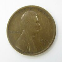 1909 S VDB LINCOLN PENNY HARD TO FIND LEGENDARY COIN VG/FINE