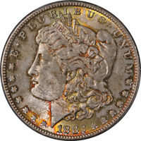 1882-S MORGAN SILVER DOLLAR PCGS MINT STATE 64 GREAT EYE APPEAL STRONG STRIKE