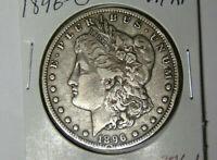 1896-O MORGAN SILVER DOLLAR VF NEW ORLEANS MINT  FINE 42519