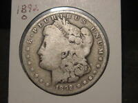 1892-O MORGAN DOLLAR BETTER DATE COMBINED SHIPPING