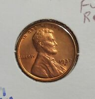1937S LINCOLN CENT - PREMIUM UNCIRCULATED - UNC WHEAT CENT 1937 S