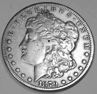 1879 CC MORGAN DOLLAR  HIGH GRADE