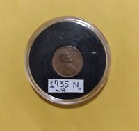 OFFICIAL 1935 WHEAT CENT  ERROR NO MINT/OFF CENTEREDWILLING TO NEGOTIATE