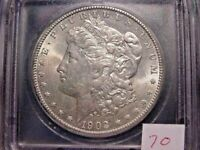 1902-O MORGAN DOLLAR VAM-22 ICG MINT STATE 63 BEAUTIFUL WHITE PQ COIN COMBINED SHIPPING