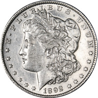 1892-P MORGAN SILVER DOLLAR GREAT DEALS FROM THE EXECUTIVE COIN COMPANY