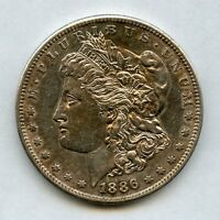 1886-S $1 MORGAN SILVER DOLLAR