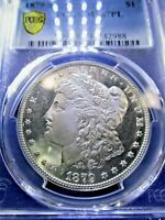 1879 S MORGAN SILVER DOLLAR MINT STATE 67PL DEEP CAMEOS VAM VARIETY S/S TILTED LEFT