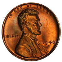 1940-D LINCOLN CENT  BU - STOCK