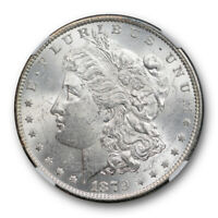 1879 O $1 MORGAN DOLLAR NGC MINT STATE 62 UNCIRCULATED EXCEPTIONAL STRIKE BLAST WHITE