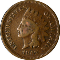 1867 INDIAN CENT GREAT DEALS FROM THE EXECUTIVE COIN COMPANY