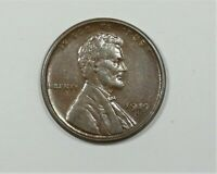 1919-S LINCOLN/WHEAT EARS REVERSE CENT ALMOST UNCIRCULATED  1C