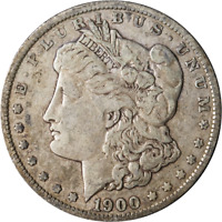 1900-O MORGAN SILVER DOLLAR - VAM 29A - DIE CRACK AT DATE GREAT DEALS FROM THE E