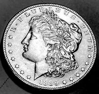 1889 S MORGAN DOLLAR CHOICE BU 3