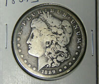 1889-S MORGAN SILVER DOLLAR CIRCULATED SAN FRANCISCO MINT 2921