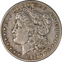 1889-S MORGAN SILVER DOLLAR LY CIRCULATED - GREAT SET BUILDER - STOCK