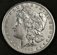 1898-O MORGAN SILVER DOLLAR.  B.U.  INVENTORY H.   141880