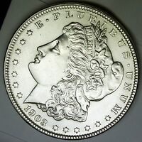 1903-P MORGAN SILVER DOLLAR CHOICE BU      INV-A