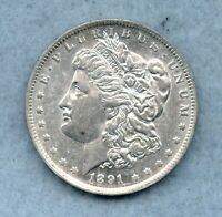 1891 O  MORGAN SILVER DOLLAR  BU  BETTER DATE