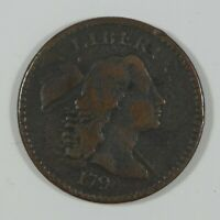 BARGAIN 1794 LIBERTY CAP LARGE CENT  FINE 1-CENT  DESIRABLE DATE
