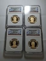 2014 S PRESIDENTIAL $1 SET NGC PF70 ULTRA CAMEO 166392P