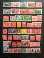 COLLECTION OF MINT STAMPS  HINGED N/H NG. DG. SHOULD BE SOME