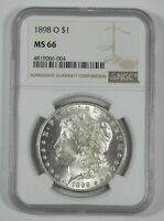 1898-O MORGAN SILVER DOLLAR CERTIFIED NGC MINT STATE 66