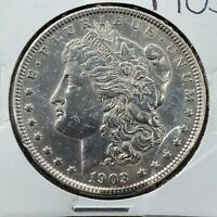 1903 P $1 MORGAN SILVER EAGLE DOLLAR BU UNC DETAILS LIGHT CLEANING  COIN