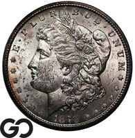 1879 CC MORGAN SILVER DOLLAR CAPPED CC VERY BRILLIANT UNCIRC