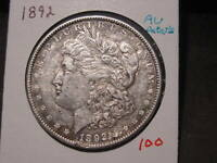 1892 MORGAN DOLLAR AU DETAILS BETTER DATE COMBINED SHIPPING