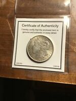 ONE 1921 BU P MORGAN SILVER DOLLAR A MUST FOR COLLECTORS OF THIS ITEM