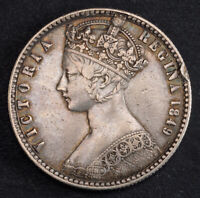 1849 GREAT BRITAIN QUEEN VICTORIA. SILVER