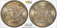 1898 S $1 MORGAN DOLLAR PCGS MINT STATE 66 UNCIRCULATED PRETTY TONED BETTER DATE