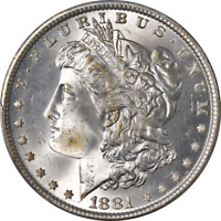1881-P MORGAN SILVER DOLLAR PCGS MINT STATE 65 GREAT EYE APPEAL STRONG STRIKE