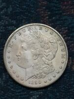 1890 -S MORGAN SILVER DOLLAR BU